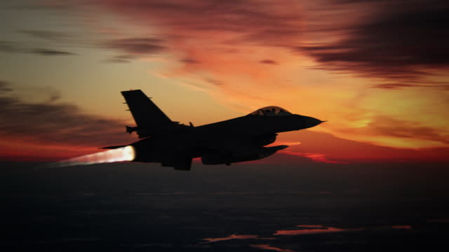 fighter aircraft - military stock videos & royalty-free footage