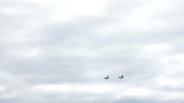 Fighter jet formation