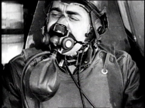 fighter plane diving / pilot in cockpit wearing flight helmet and oxygen mask / explosion - diving helmet stock videos and b-roll footage