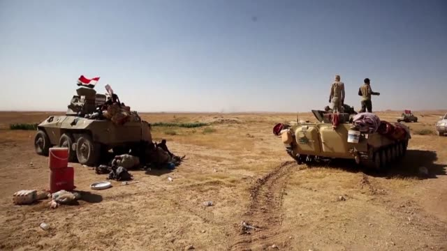 Fighters from the Hashed al Shaabi paramilitaries were preparing to advance towards the city of Tal Afar the main remaining stronghold of the Islamic...