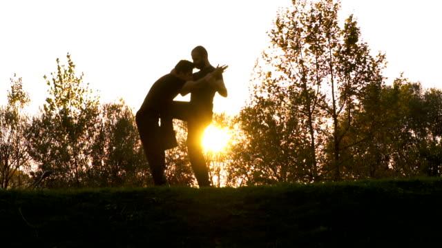 vidéos et rushes de combattants wing chun kung-fu combats - arts martiaux