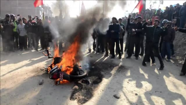 fighting broke out in nepals parliament tuesday with maoist lawmakers throwing chairs and injuring four security officers as tensions ran high before... - maoism stock videos & royalty-free footage
