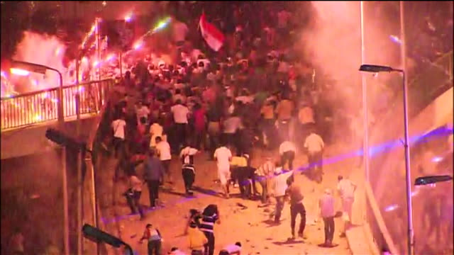 fighting erupts among egyptians who are in favor of the 2013 egyptian military coup and those who oppose it - (war or terrorism or election or government or illness or news event or speech or politics or politician or conflict or military or extreme weather or business or economy) and not usa stock videos & royalty-free footage