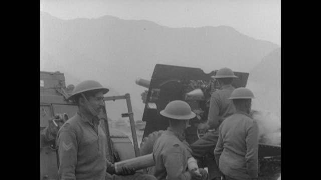 fighting in kashmir comes to the attention of the united nations - anno 1947 video stock e b–roll