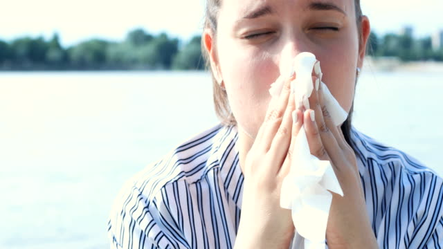 fighting the flu - allergy stock videos & royalty-free footage