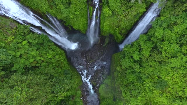Figi Waterfalls in Bali, Indonesia