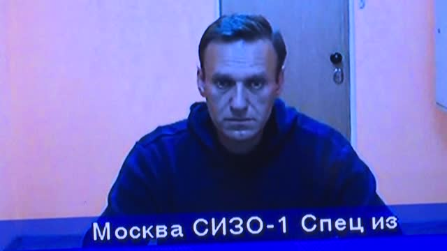 file images of alexei navalny as the the head of russia's prison service confirms that the kremlin critic alexei navalny has been transferred to a... - critic stock videos & royalty-free footage