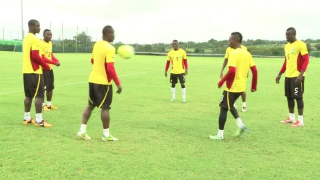 file images of the ghana national football team which will compete next june in brazil's 2014 world cup clean file images of the ghana on december 03... - national team stock videos & royalty-free footage