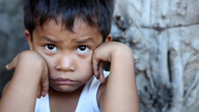 hd filipino boy portrait - poverty stock videos & royalty-free footage