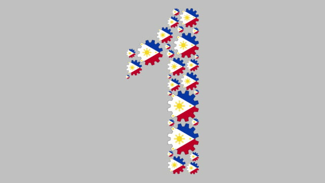 filipino number one - philippines flag stock videos & royalty-free footage