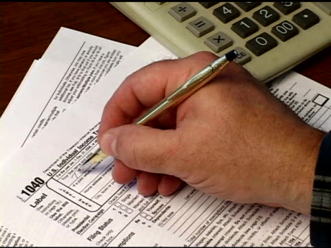 Filling Out Form 1040