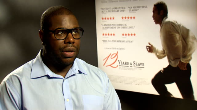 '12 Years a Slave' interviews ENGLAND INT Steve McQueen interview SOT