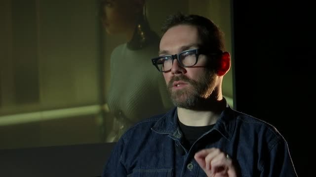 oscars preview: 'visual effects' nominees double negative; england: london: int andrew whitehurst interview sot - film negative stock videos & royalty-free footage