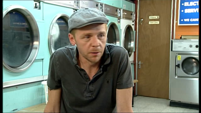 'a fantastic fear of everything' simon pegg interview pegg interview sot - simon pegg stock videos & royalty-free footage