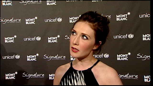 academy awards 2009 celebrity arrivals at preoscars party carice van houten interview sot on la being scary sometimes the art of film not being... - pre party stock videos and b-roll footage