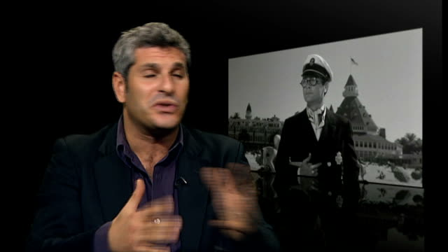 Actor Tony Curtis dies aged 85 ENGLAND London INT Jason Solomons interview SOT On Curtis as an actor