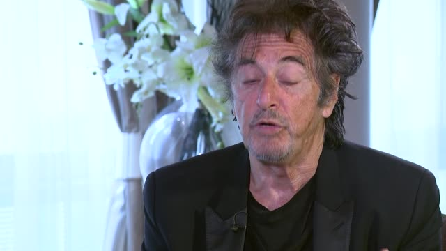 Al Pacino interview Pacino interview SOT On Hollywood today and changes in the film industry / his favourite roles / wanting to work in Britain /...