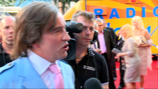 'alan partridge: alpha papa' premiere in leicester square; coogan speaking to press / steve coogan interview sot / coogan speaking to press / simon... - steve coogan stock videos & royalty-free footage