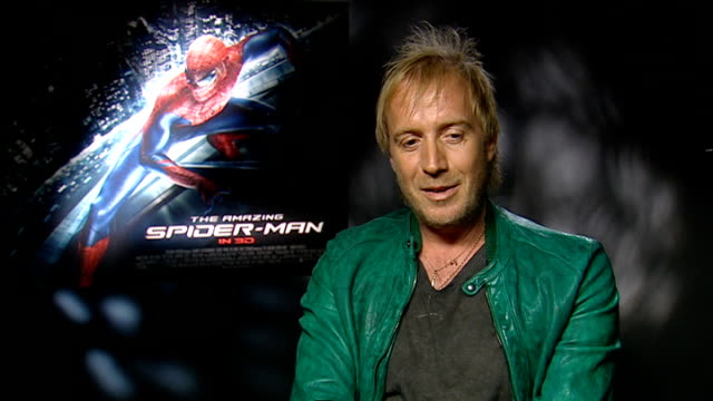 Amazing Spiderman Andrew Garfield and Emma Stone interviews Rhys Ifans interview SOT / Marc Webb interview SOT