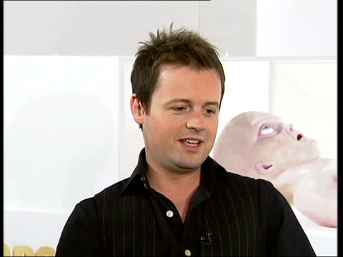 ant & dec interview; declan donnelly interview sot - had to keep reminding ourselves this is a real film, could get used to this/ a thrill to be... - time of day stock videos & royalty-free footage