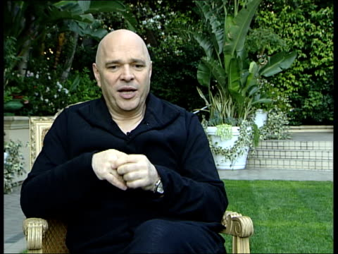 anthony minghella interview; minghella interview sot - third film in a row that has had great attention / with 'the english patient' had no... - the english patient点の映像素材/bロール