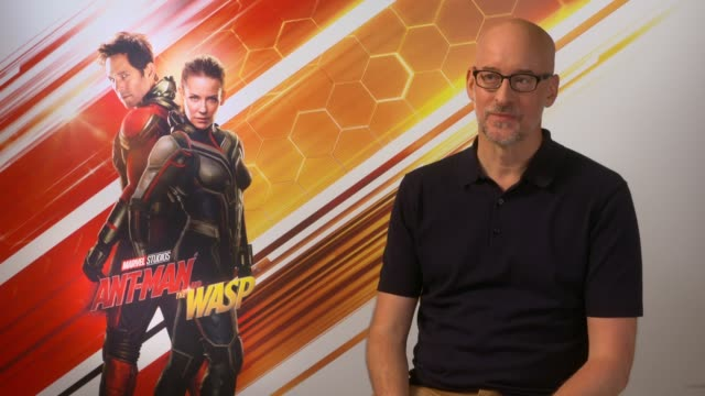 AntMan and the Wasp junket interviews ENGLAND INT Peyton Reed interview SOT