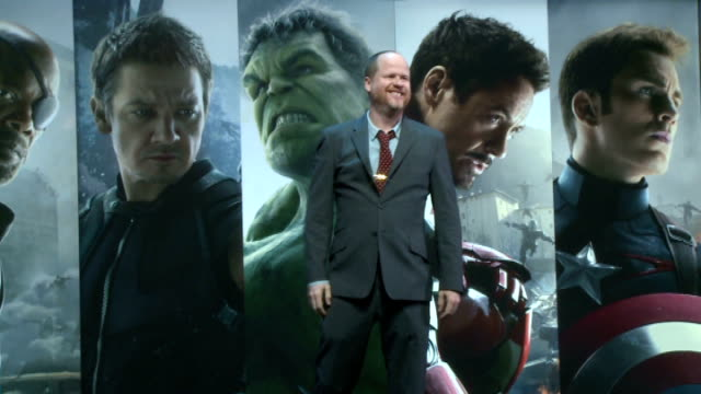 Avengers Age of Ultron London interviews with the stars More of fans and sgins / Joss Whedon onto stage / Mark Ruffalo onto stage / Chris Hemsworth...
