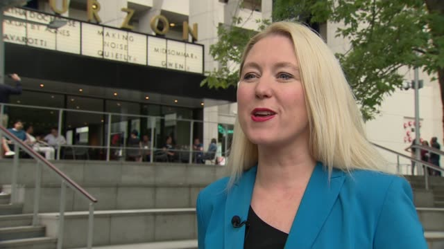 'Avengers Endgame' overtakes 'Avatar' as highestgrossing movie ever ENGLAND London EXT Anna Smith interview SOT