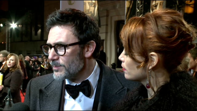 celebrity arrivals Michel Hazanavicius and Berenice Bejo speaking to press SOT Michel Hazanavicius and Berenice Bejo interview SOT On what it means...