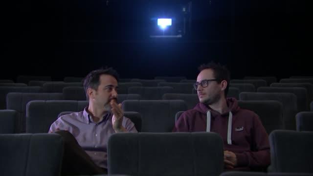 London winners BAFTA Film Awards 2017 London winners Gabriele Zuchelli and Ben Jones in screening room Jones