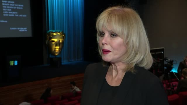 Nominations announced ENGLAND London BAFTA INT Joanna Lumley interview SOT