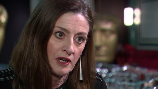 stockvideo's en b-roll-footage met bafta award nominations criticised for lack of diversity england london int amanda berry interview sot - geproduceerd segment