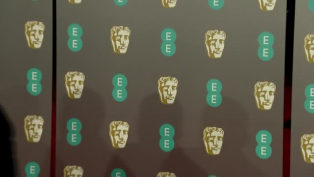 bafta awards 2019 red carpet photocalls and arrivals england london kensington the royal albert hall photography*** arrivals on bafta awards red... - cynthia parker stock videos & royalty-free footage