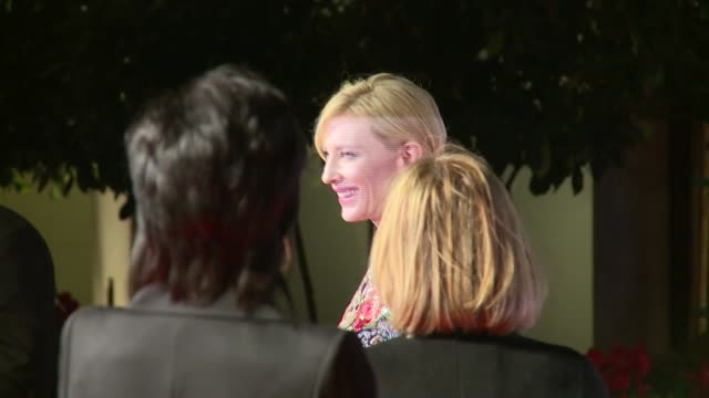 bafta film awards 2016 arrivals at after party dinner more christie signing autographs and along to pose for photocall / cate blanchett arrival and... - actress stock videos & royalty-free footage