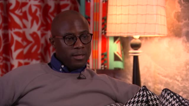 barry jenkins interview england london int barry jenkins interview sot change is afoot in film industry diversity in films cutaways reporter - barry jenkins film director stock videos and b-roll footage