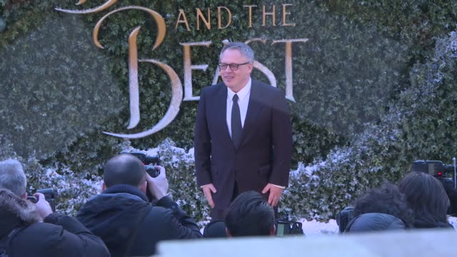 'Beauty and the Beast' premiere red carpet interviews Film 'Beauty and the Beast' premiere red carpet interviews ENGLAND London THROUGHOUT*** GVs...