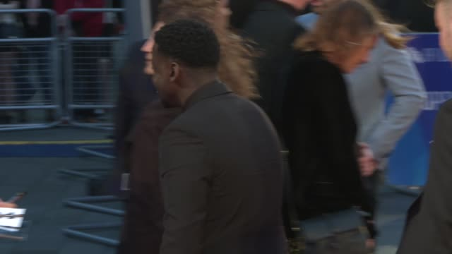 bfi london film festival 2018 opens 'widows' premiere england london leicester square daniel kaluuya on the red carpet for 'widows' premiere - daniel kaluuya stock videos and b-roll footage