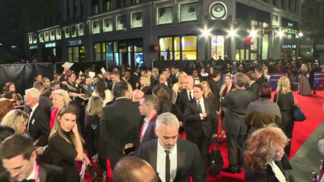 bfi london film festival 2018 opens 'widows' premiere england london leicester square viola davis on the red carpet / general views of the red carpet... - the times bfi london film festival stock videos & royalty-free footage