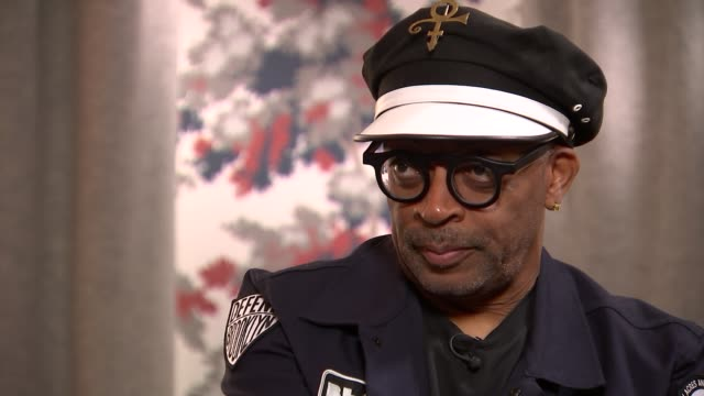 vidéos et rushes de 'blackkklansman' spike lee interview england london int spike lee interview sot on the rise of farright activists and russian involvement this is by... - embarras