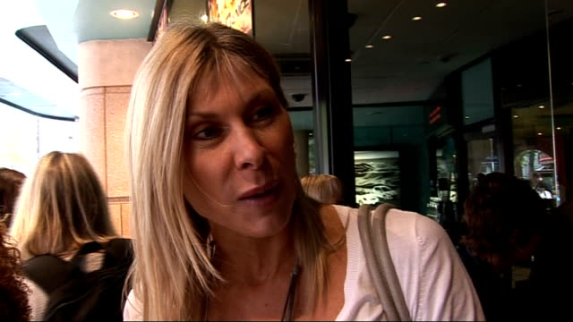 'bob the builder' premiere in london celebrity arrivals sharron davies along and interview sot on recovering from injuries after dancing on ice /... - reality tv stock videos & royalty-free footage