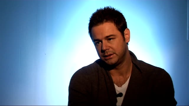 danny dyer interview on his autobiography; dyer interview sot - on possibility of working on a soap opera in the future / has had quite a rare career... - ドキュメンタリー映画点の映像素材/bロール