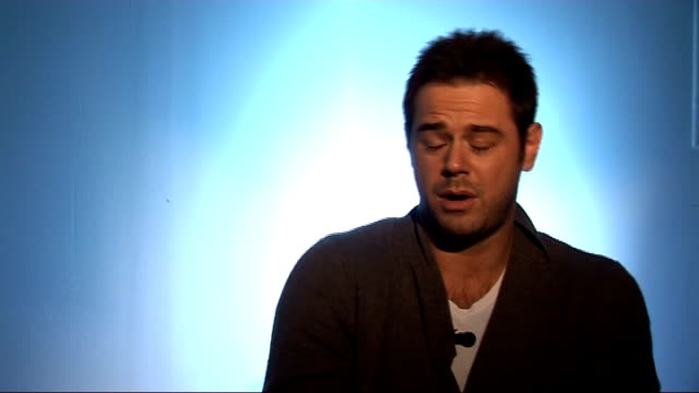 danny dyer interview on his autobiography dyer interview sot on being very honest with his daughter doesn't want her to take drugs / buys his... - harold pinter stock videos and b-roll footage
