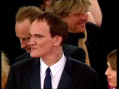 cannes film festival ext group of people on red carpet tcms tarantino on red carpet tcms turner posing next swinton tgv group of people on red carpet... - red tape stock videos & royalty-free footage