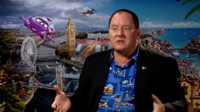 'cars 2' junket interviews john lasseter michael caine and jason isaacs england london int john lasseter interview sot on making a sequel to 'cars'... - jason isaacs stock videos & royalty-free footage