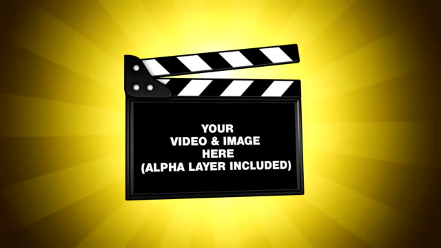 film clapper green box replace - film slate stock videos & royalty-free footage