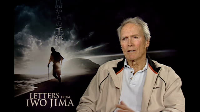 Clint Eastwood interview Eastwood interview SOT He [Kuribayashi] had a certain amount of conflict he had to overcome among his officers they resented...