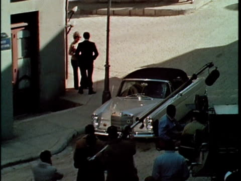 1970 MS HA Film crew shooting in Universal Studios, Los Angeles, California, USA, AUDIO