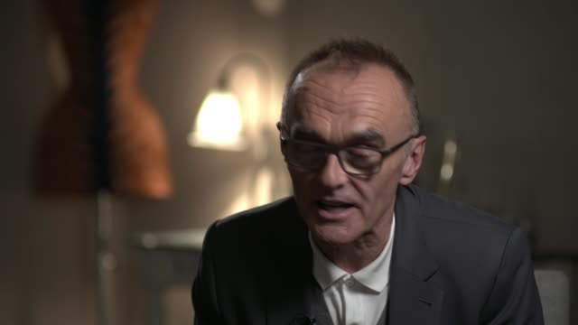 Danny Boyle explains why he walked away from the new James Bond film ENGLAND London INT Danny Boyle interview with reporter SOT