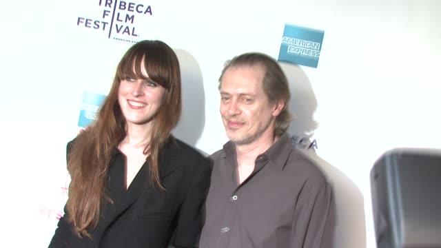 film director celine danhier and steve buscemi at the 8th annual tribeca film festival 'blank city' premiere at new york ny - steve buscemi stock videos & royalty-free footage