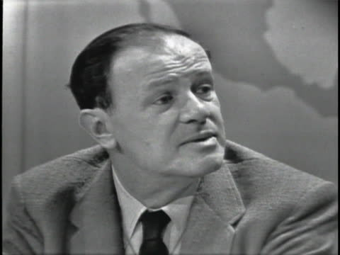 film director joseph mankiewicz discusses all the historical research that went into the making of cleopatra - cleopatra stock videos & royalty-free footage